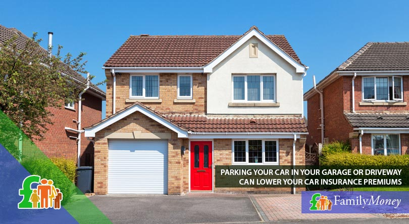 Parking your car in your garage or driveway can save you money on car insurance