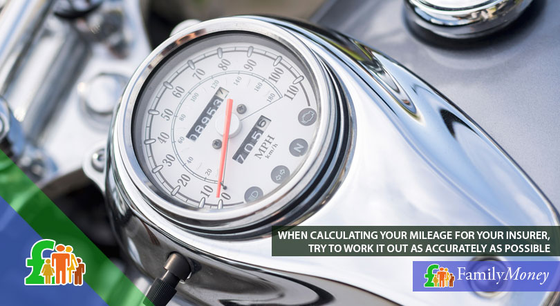 Calculating your motorcycle mileage accurately is important when making an insurance claim