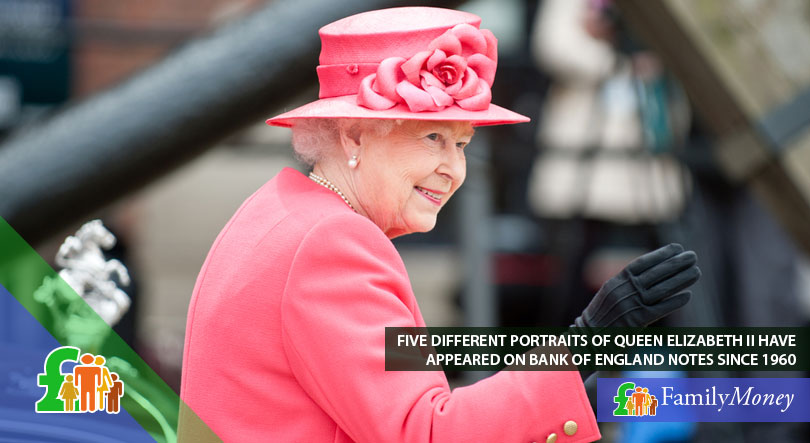 Many portraits of Queen Elizabeth II have been printed on banknotes