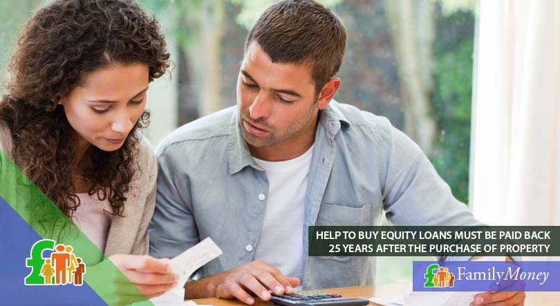 A couple calculating and considering a Help to Buy equity loan for their home purchase