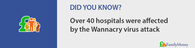 Over 40 hospitals were affected  by the Wannacry virus attack