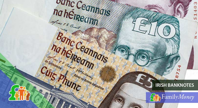 Irish banknotes