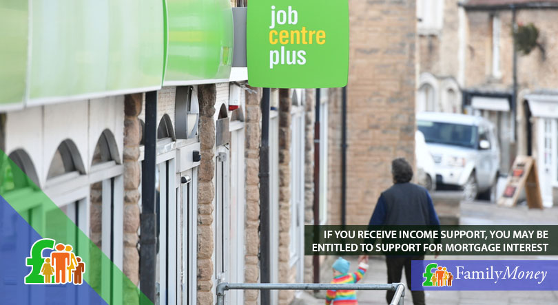 A man is visiting his local Jobcentre to make arrangements for his benefits