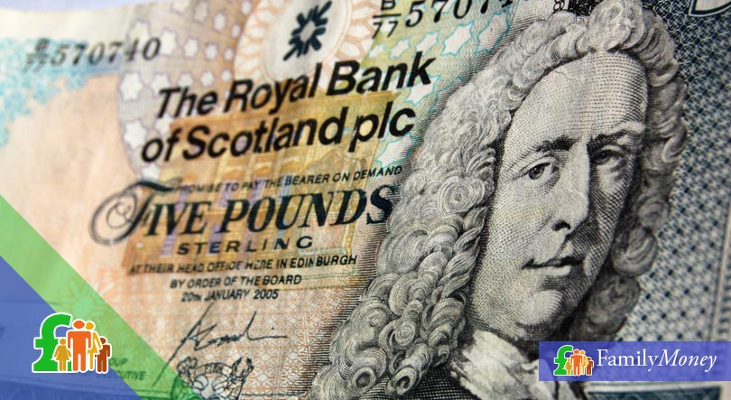 The history and development of the Scottish pound