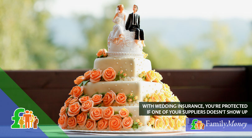 A picture of a wedding cake, prepared by a wedding supplier