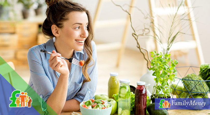 Living a healthy lifestyle can also help you save money