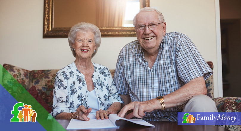 An elder couple are writing their will