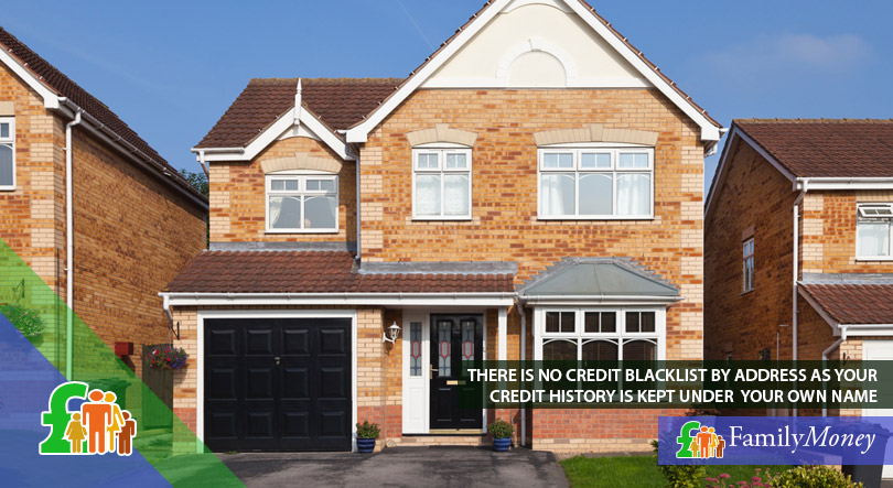 A UK house which by law does not come attached with the previous owner's credit score