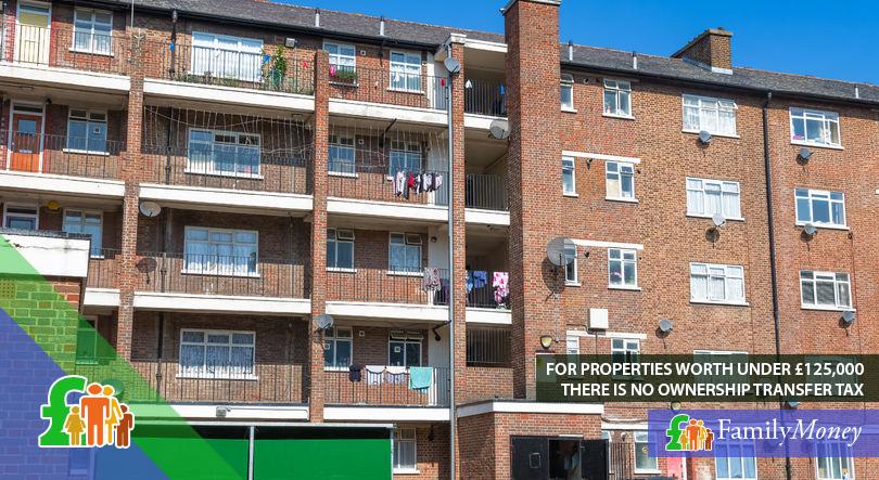 A British council housing estate