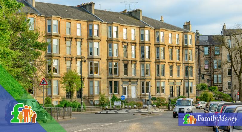 British housing flats