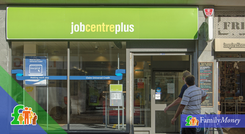 A Job Centre Plus in the UK, where benefit claimants can arrange to receive Universal Credit