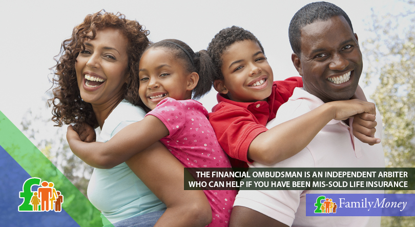 A happy family enjoying peace of mind by having taken out a life insurance policy