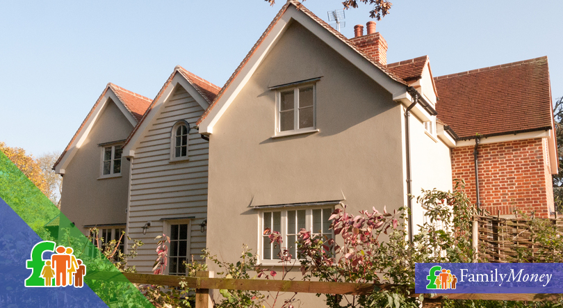 Modern UK homes that have home insurance policies taken out on them