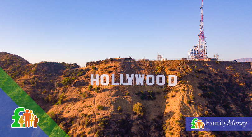 Hollywood letters on a mountain