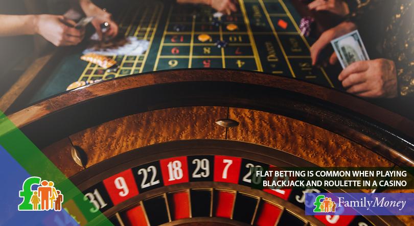 A casino roulette