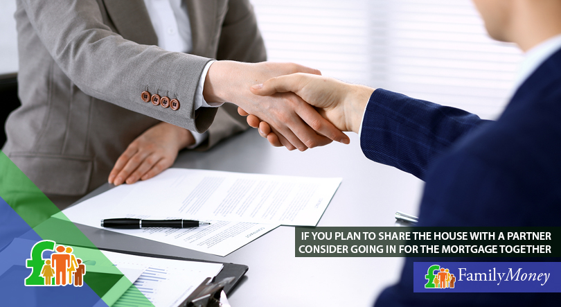 A financial meeting with a mortgage advisor