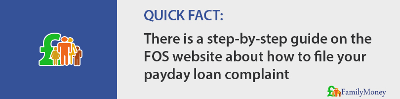 Learn how a payday loan complaint should be made